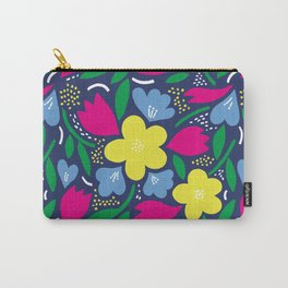 Floral Festival Carry-All Pouch