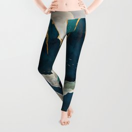 Golden Waterfall Leggings
