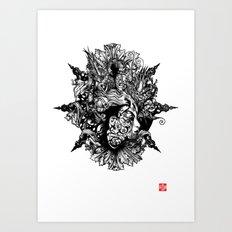 HUMAN FORM DEVINE / no 1 Art Print