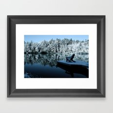 Winter Tranquility Framed Art Print
