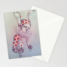 The card of hearts Stationery Cards