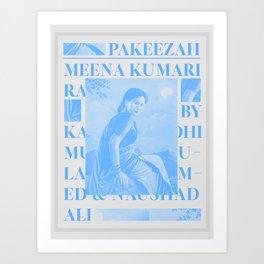 Pakeezah Art Print
