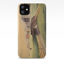 St Andrews Golf Course Scotland 18th Hole iPhone Case