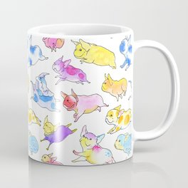 Fearless Flying Frenchies - French Bulldogs Coffee Mug