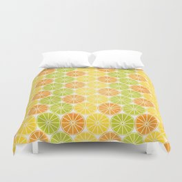 Zesty Slice Duvet Cover