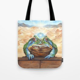 Dust Toad Tote Bag
