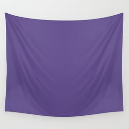 PANTONE 18-3838 Ultra Violet Wall Tapestry
