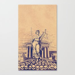 The Skulls of Justice Canvas Print