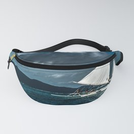 White Banca Fanny Pack