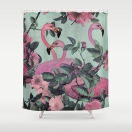 Flamingo Gardens Shower Curtain