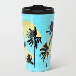 Palm Trees in Moorea Travel Mug