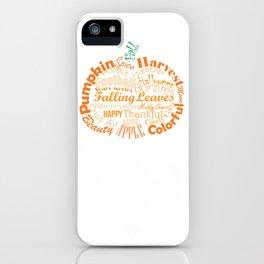 Pumpkin Type iPhone Case