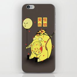 My Yellow Monster iPhone Skin