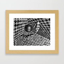 Abstract Handball 2 Framed Art Print