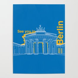 See you in Berlin Poster
