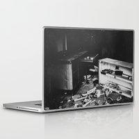 death Laptop & iPad Skins featuring Death by Sarah Van Neyghem