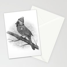 First Snow (monochromatic) Stationery Cards