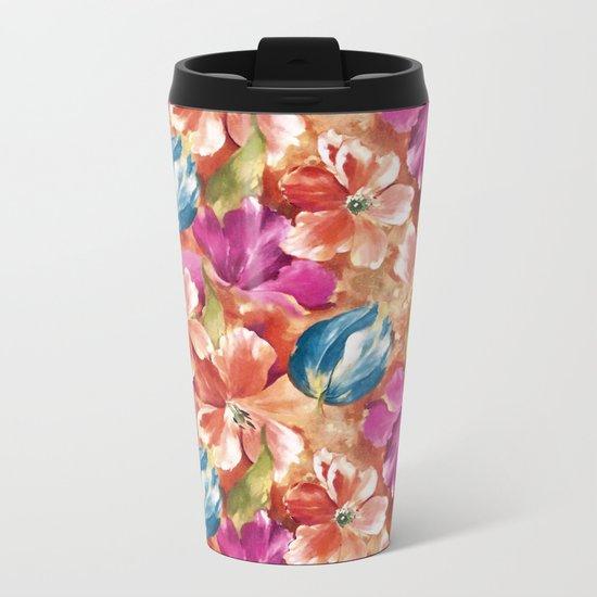 Spring flowers II Metal Travel Mug