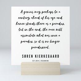 4      Søren Kierkegaard Quotes   190523 Mini Art Print