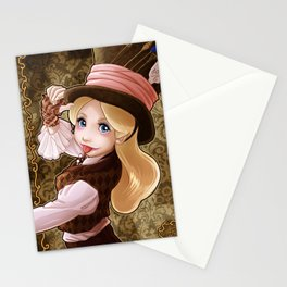 Mad Hatter Alice Stationery Cards