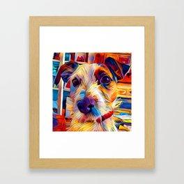 Jack Russell Terrier 2 Framed Art Print