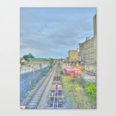 Down by the Tracks Canvas Print