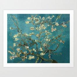 Van Gogh Blossoming Almond Tree Art Print