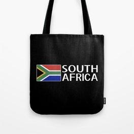 South Africa: South African Flag & South Africa Tote Bag