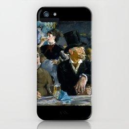 Édouard Manet - The Café-Concert iPhone Case