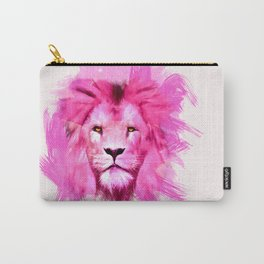 A pink lion looked at me Carry-All Pouch