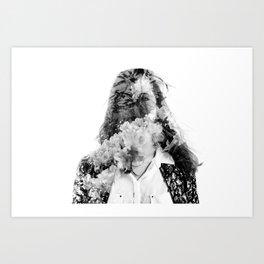 Inner Spirits. Bloom. Art Print