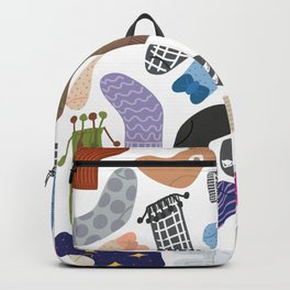 Socks Collections 2 Backpack