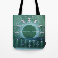 The Earth as a Planet Tote Bag