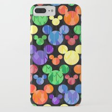 Mickey Mouse Rainbow Arrows iPhone 7 Plus Slim Case