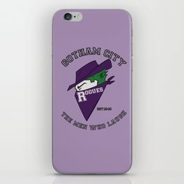 Gotham City Rogues iPhone Skin