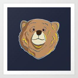 Happy Bear Art Print