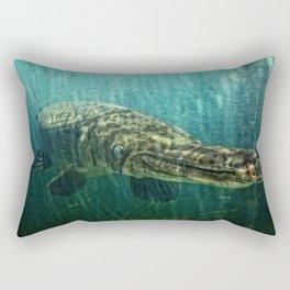 Alien Creature Rectangular Pillow