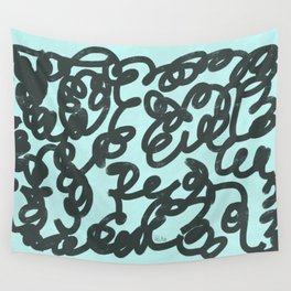 Jumble of Mess Wall Tapestry