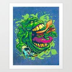 UGLY LITTLE SPUD Art Print
