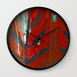 Tribal Flair Wall Clock