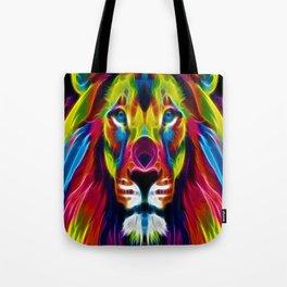 Colourful Lion Tote Bag