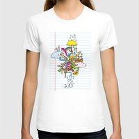 notebook T-shirts featuring Notebook World by Duru Eksioglu