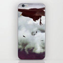 flying iPhone Skin
