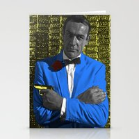bond Stationery Cards featuring Bond by POP Prints by FMcLaws