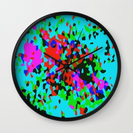 Crystallize 5 Wall Clock