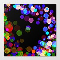 bubbles Canvas Prints featuring Bubbles by haroulita