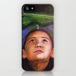 Nature: A Helping Hand iPhone Case