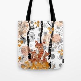 HELLO FOXY Tote Bag