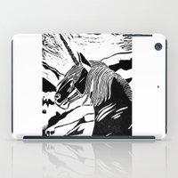 unicorns iPad Cases featuring Unicorns by Lily Livingston