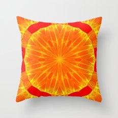 Kaleidoscope 'RK1 SQ' Throw Pillow
